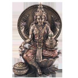 IMAGEN LAKSHMI BUDA 20cm (REF 57856)