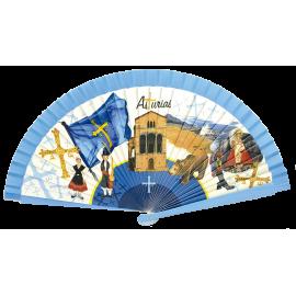ABANICO ASTURIAS REF 09102