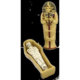 EGIPCIO SARCOFAGO CON MOMIA 13CM REF ES45
