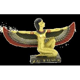 EGIPCIO DIOSA ISIS DORADA ALAS EXTENDIDAS ESP08