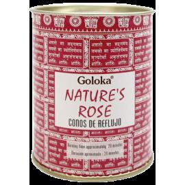 INCIENSO CONO REFLUJO GOLOKA NATURES - ROSAS INC496