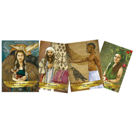 ANGELES Y ANCESTROS LIBRO Y CARTAS ORACULO