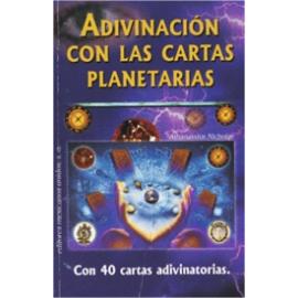 ADIVINACION CON LAS CARTAS PLANETARIAS