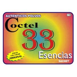 POLVO ESPECIAL COCTEL 33 ESENCIAS