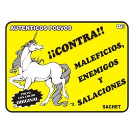 POLVO ESPECIAL CONTRA MALEFICIOS ENEMIGOS Y SALA