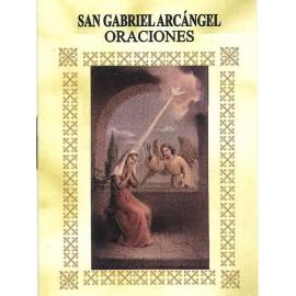 LIBRITO ORACIONES ARCANGEL GABRIEL 7X5 CM