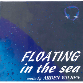 CD FLOTING IN THE SEA